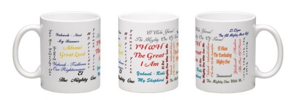 names of YHWH mug
