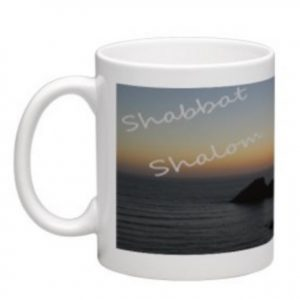 Messianic Shabbat Shalom mug