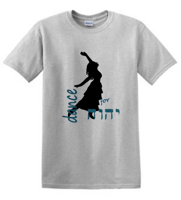 dance for YHVH glitter shirt