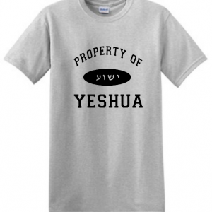 property of Yeshua shirt