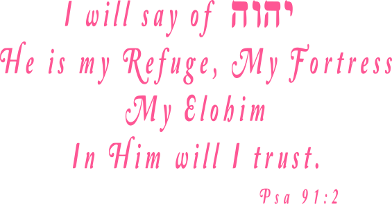 YHVH is my refuge