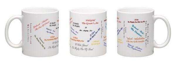 names of YHWH mug