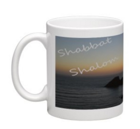Messianic Shabbat Shalom mug