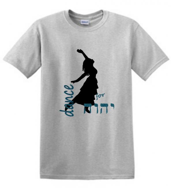dance for YHVH glitter shirt